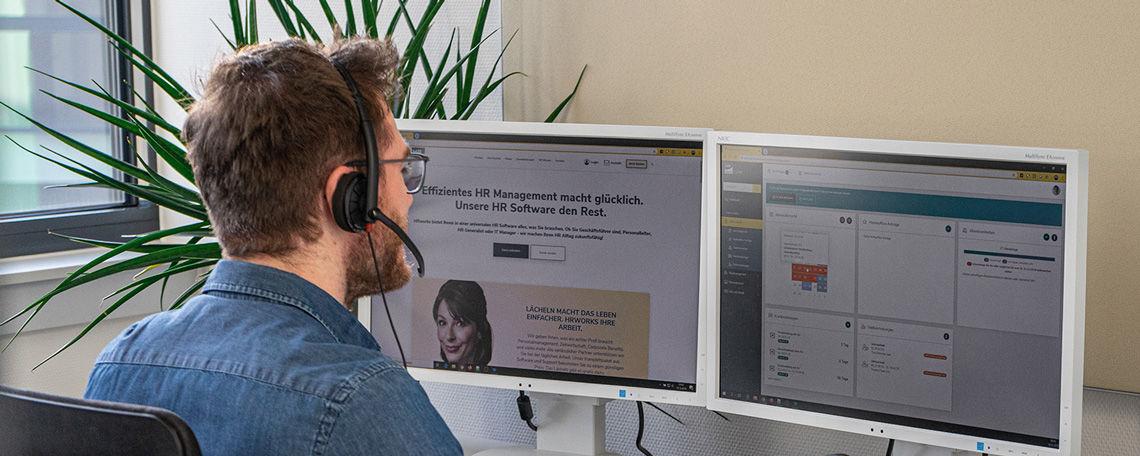 Abschlussarbeit Digitalisierung im Consulting für Softwareprodukte (m/w/d) - Job Frankfurt - Stellenangebote bei HRworks