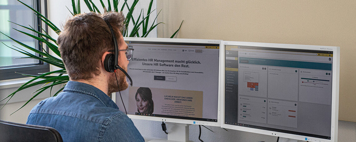 Business Development / Key Account / Sales Manager (m/w/d) SaaS Software B2B - Job Berlin, Freiburg im Breisgau - Stellenangebote bei HRworks - Post offer form